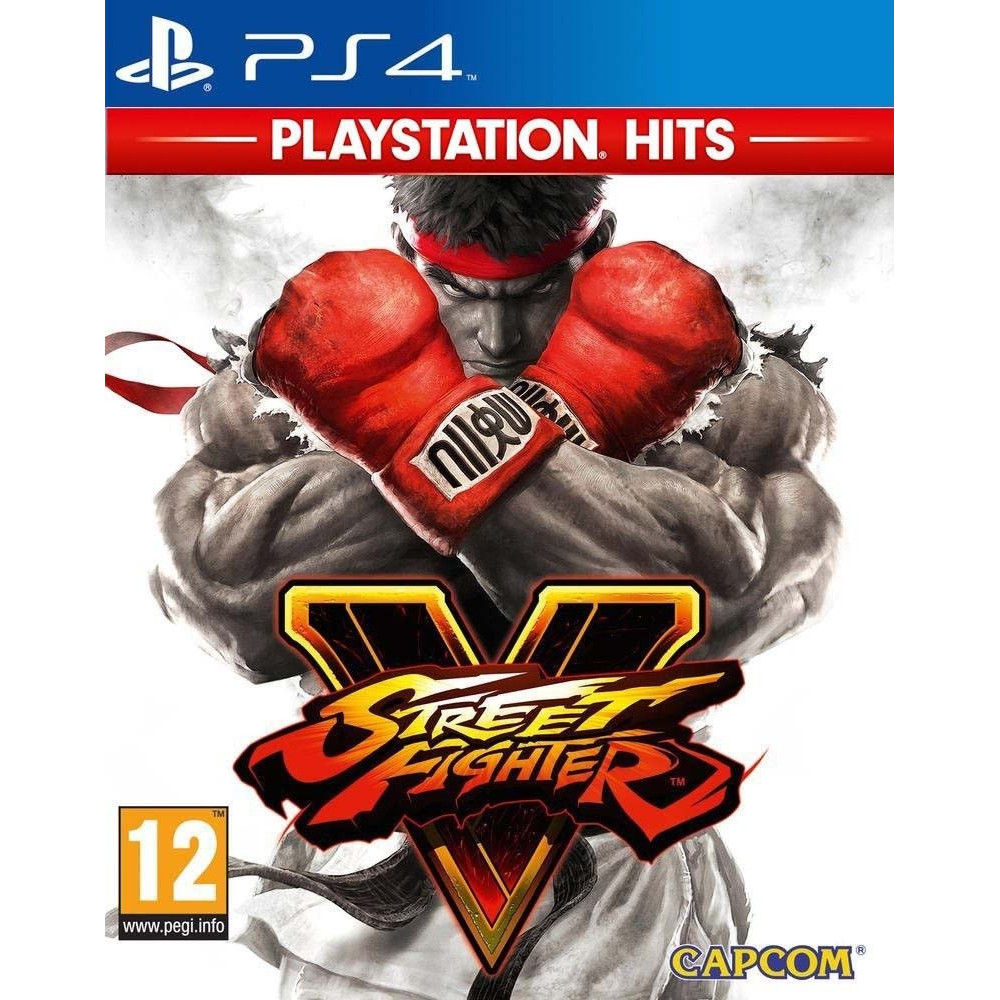 STREET FIGHTER V PLAYSTATION HITS PS4 FR OCCASION