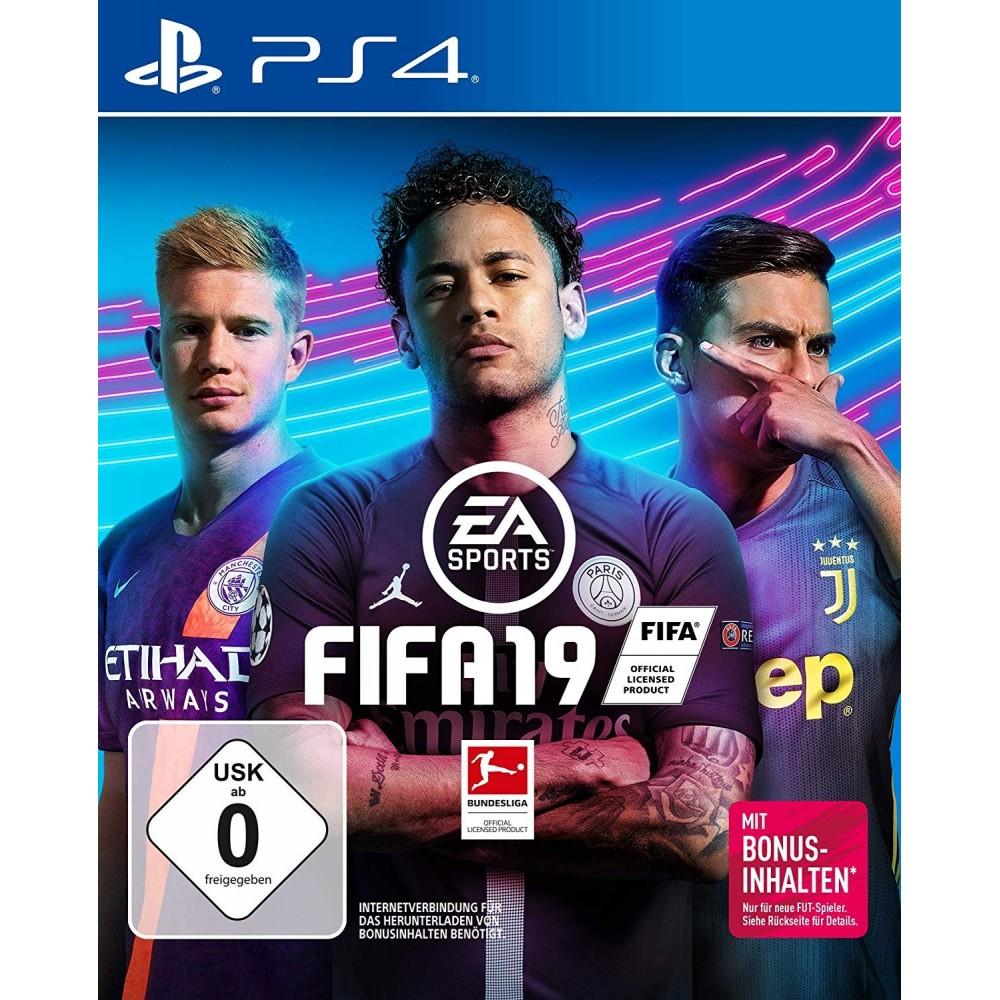 FIFA 19 PS4 ALLEMAND AVEC TEXTE EN FRANCAIS OCCASION