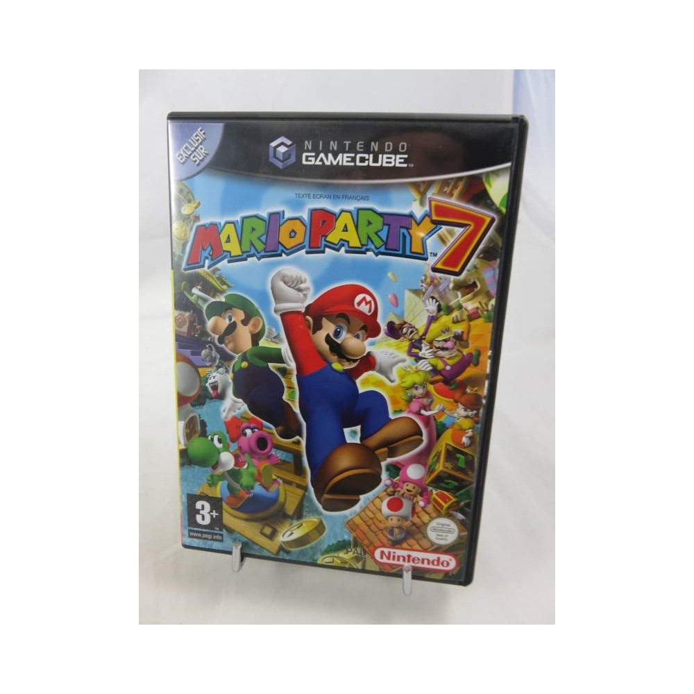MARIO PARTY 7 + MICRO GAMECUBE PAL-FR OCCASION (SANS BOITE CARTON)