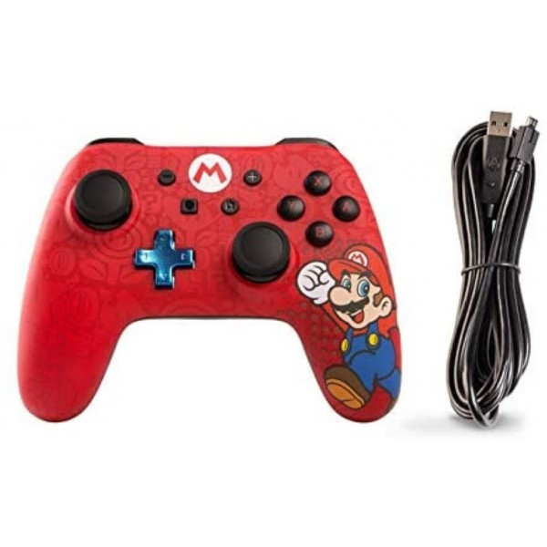 CONTROLLER WIRED SUPER MARIO ROUGE SWITCH EURO OCCASION