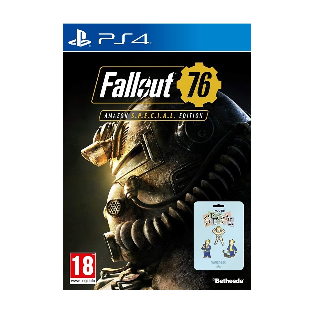 FALLOUT 76 AMAZON SPECIAL EDITION PS4 FR NEW