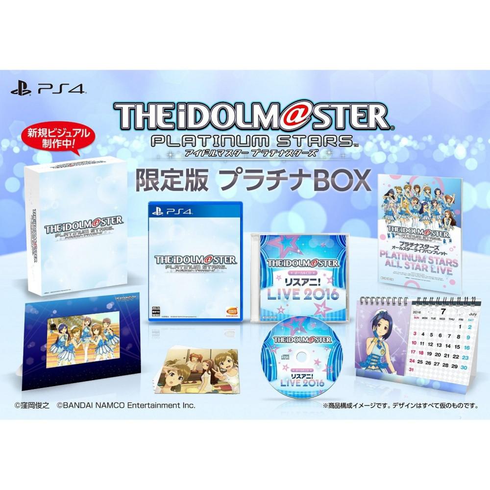 IDOLM@STER PLATINUM STARS PLATINUM BOX PS4 JPN OCCASION