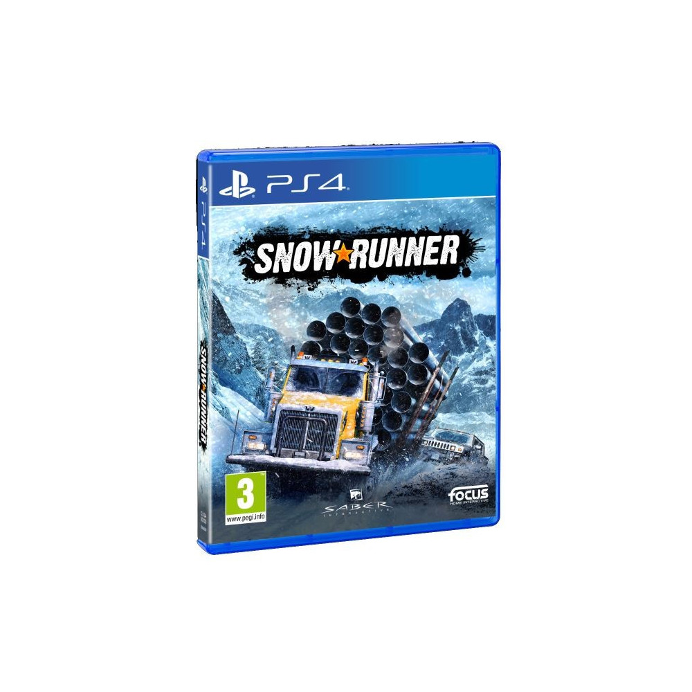 SNOW RUNNER PS4 EURO FR OCCASION