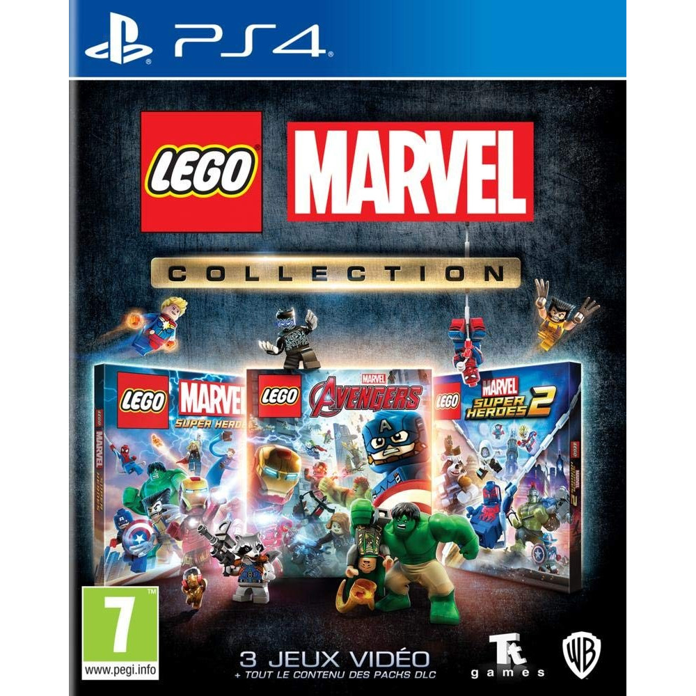 LEGO MARVEL COLLECTION PS4 EURO FR NEW