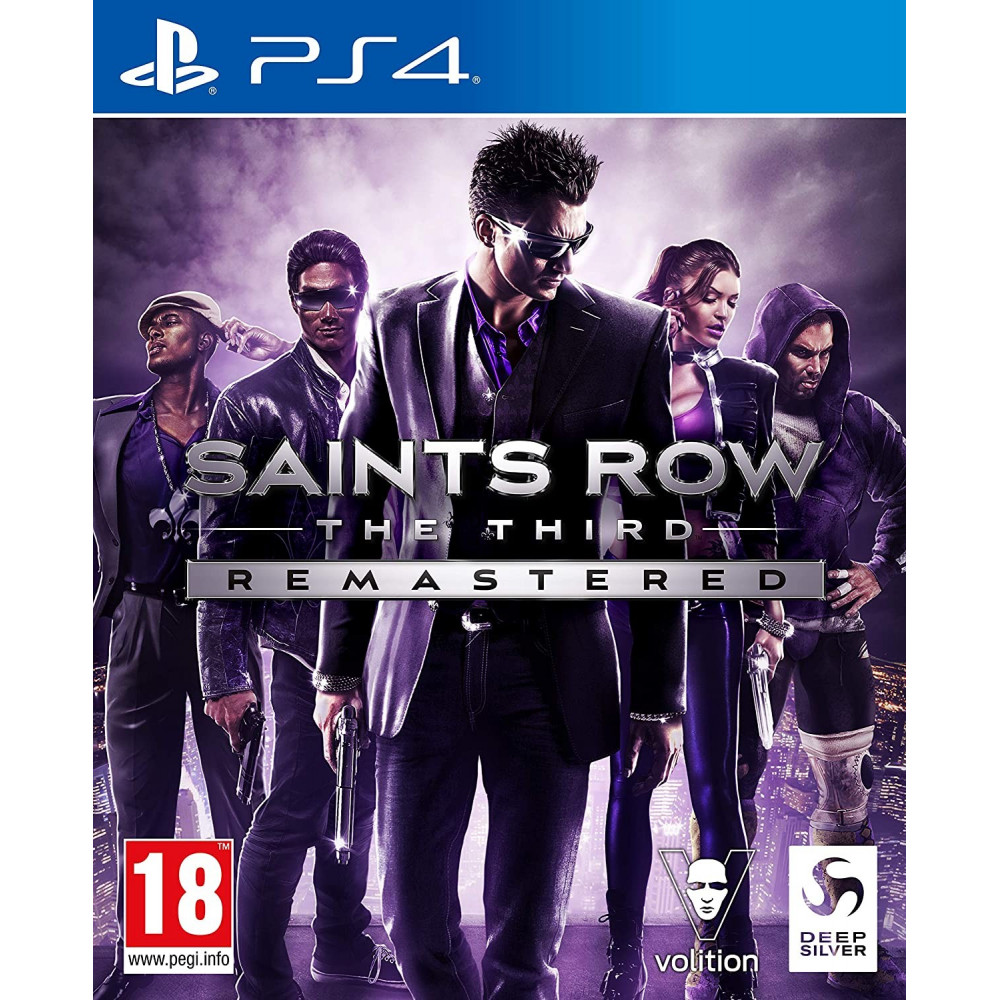 SAINTS ROW THE THIRD REMASTERED PS4 EURO UK NEW