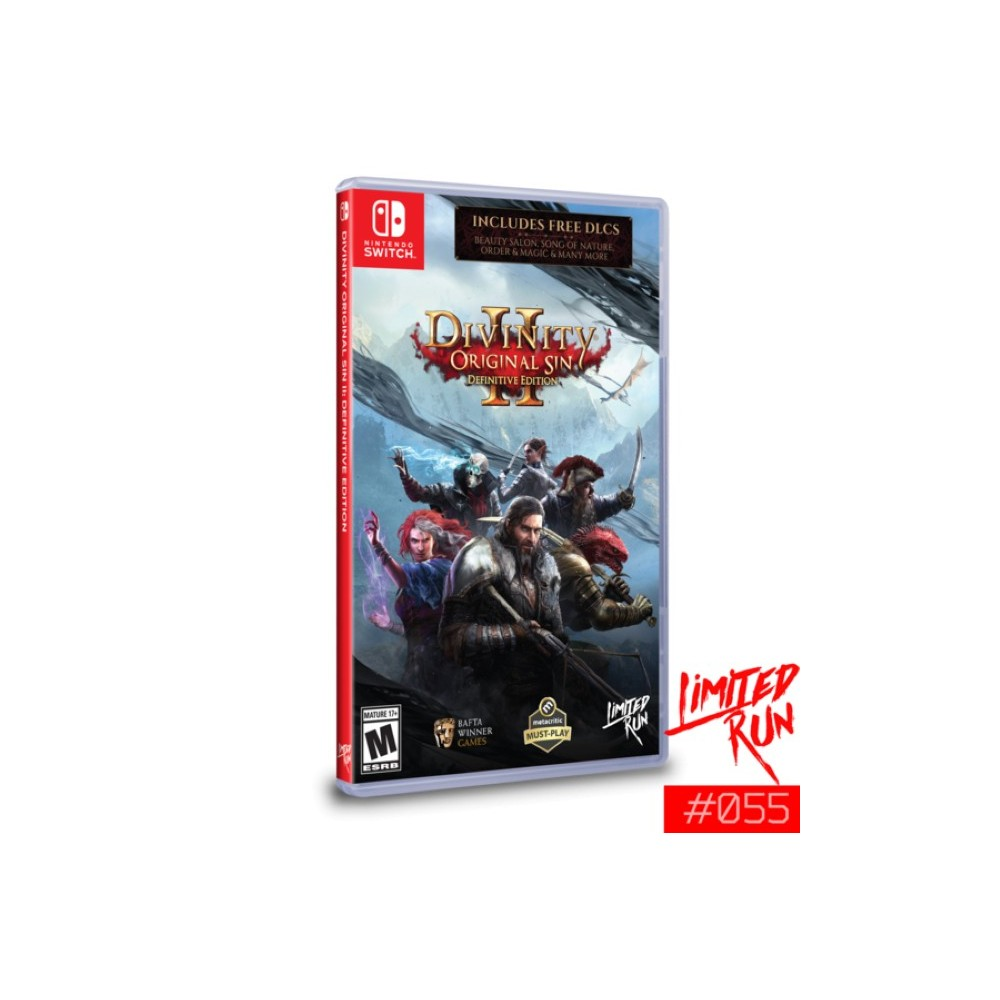 DIVINITY ORIGINAL SIN DEFINITIVE EDITION 2 SWITCH US OCCASION