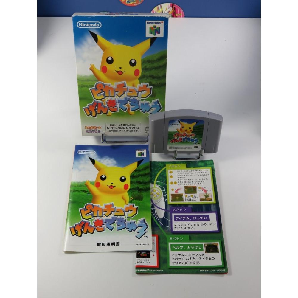 PIKACHU GENKI DECHU (HEY YOU PIKACHU) N64 NTSC-JPN OCCASION
