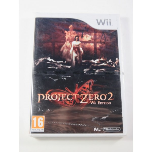 PROJECT ZERO 2 EDITION WII PAL FR NEW