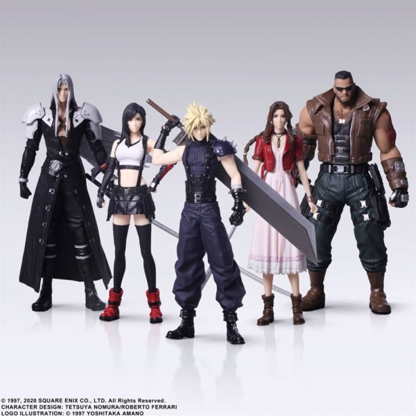 FIGURINE FINAL FANTASY VII REMAKE TRADING ARTS JAP NEW