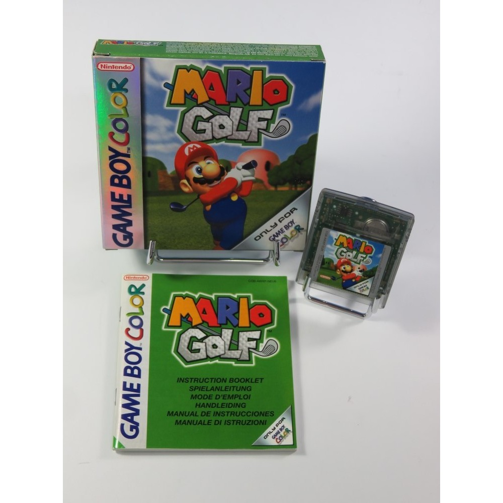 MARIO GOLF GAME BOY COLOR NEU6 OCCASION