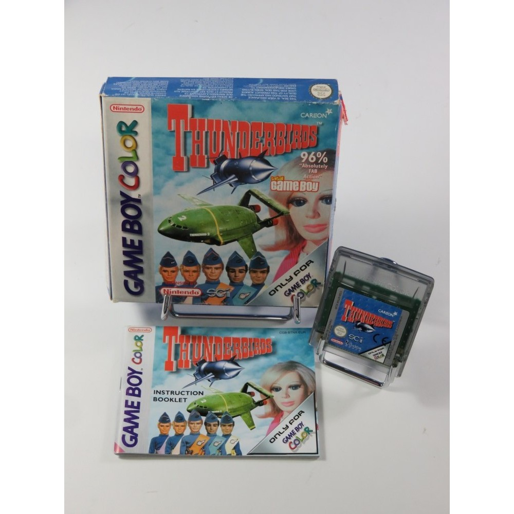 THUNDER BIRDS GAME BOY COLOR EUR OCCASION