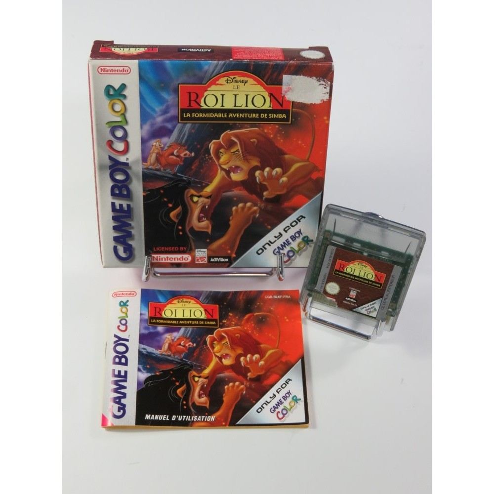 LE ROI LION - LA FORMIDABLE AVENTURE DE SIMBA GAMEBOY COLOR FRA OCCASION