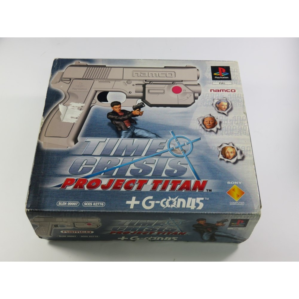 TIME CRISIS - PROJECT TITAN + G-CON45 PS1 PAL-EURO OCCASION