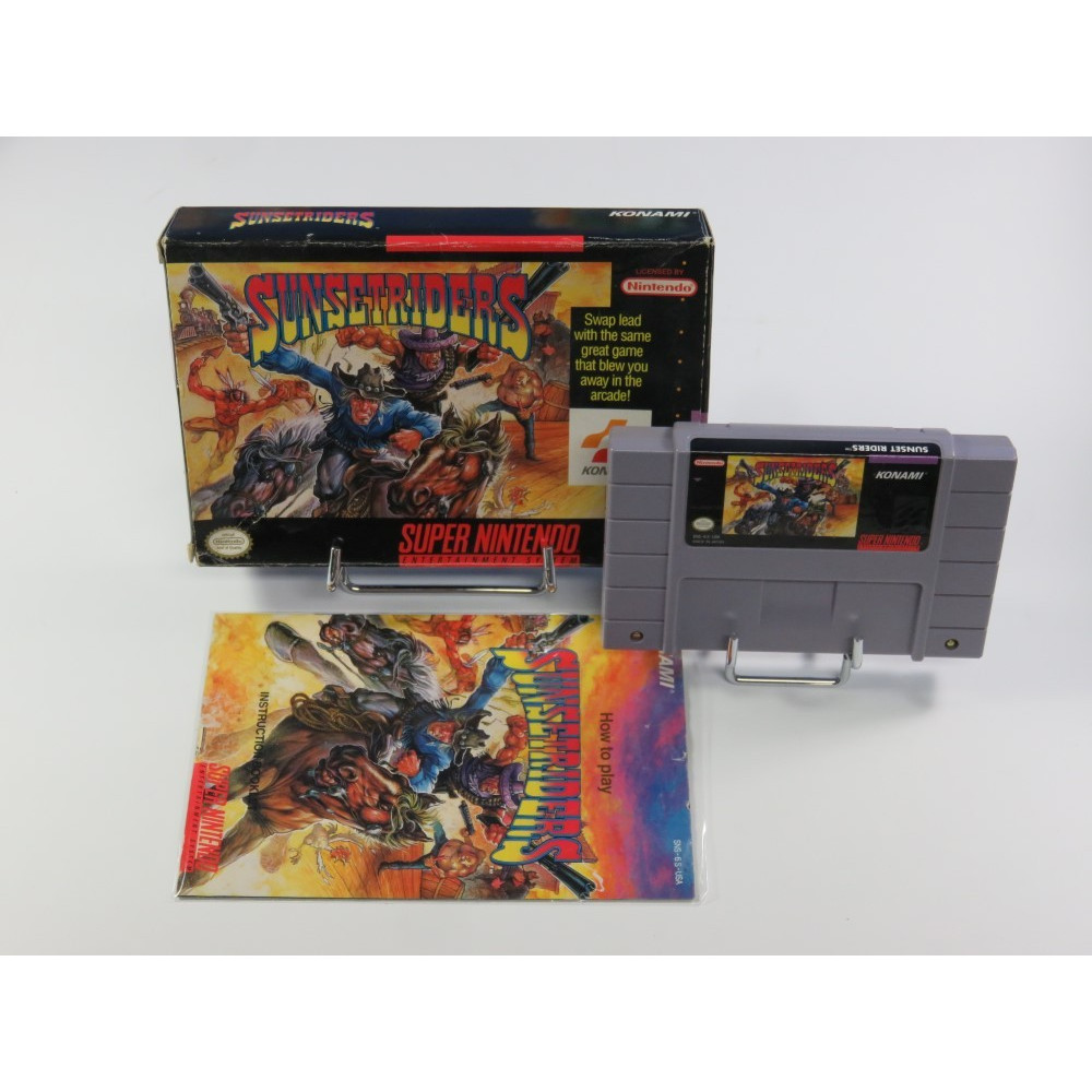 SUNSET RIDERS SNES NTSC-USA OCCASION