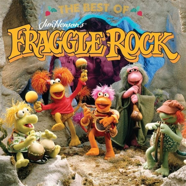 VINYLE FRAGGLE ROCK THE BEST OF NEW