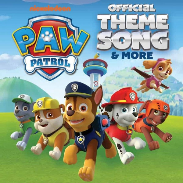 VINYLE PAW PATROL OFF THEME SONG (45T) NEW
