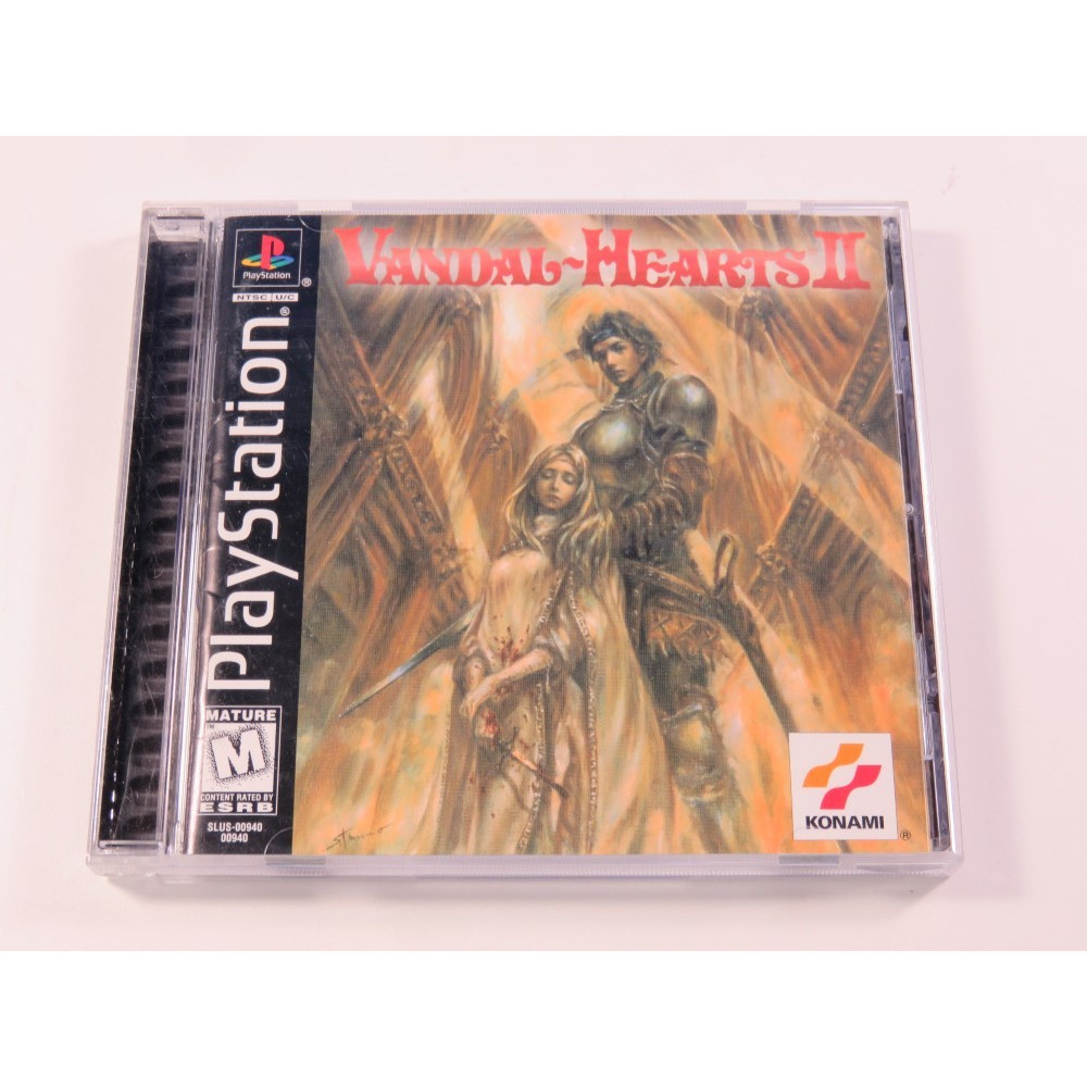 VANDAL HEARTS II PS1 NTSC-USA OCCASION