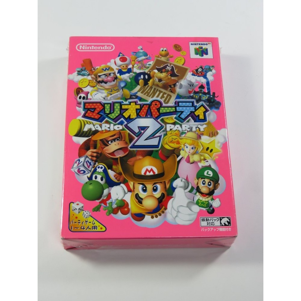 MARIO PARTY 2 N64 NTSC-JPN NEW