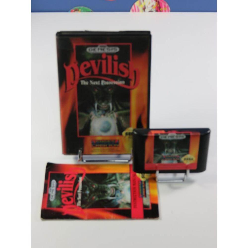 DEVILISH - THE NEX POSSESSION SEGA GENESIS NTSC-USA OCCASION
