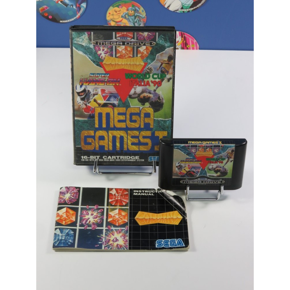 MEGA GAMES I MEGADRIVE PAL-EURO OCCASION