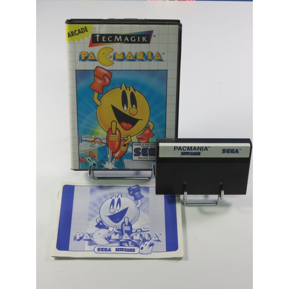 PAC-MANIA MASTER SYSTEM PAL-EURO OCCASION