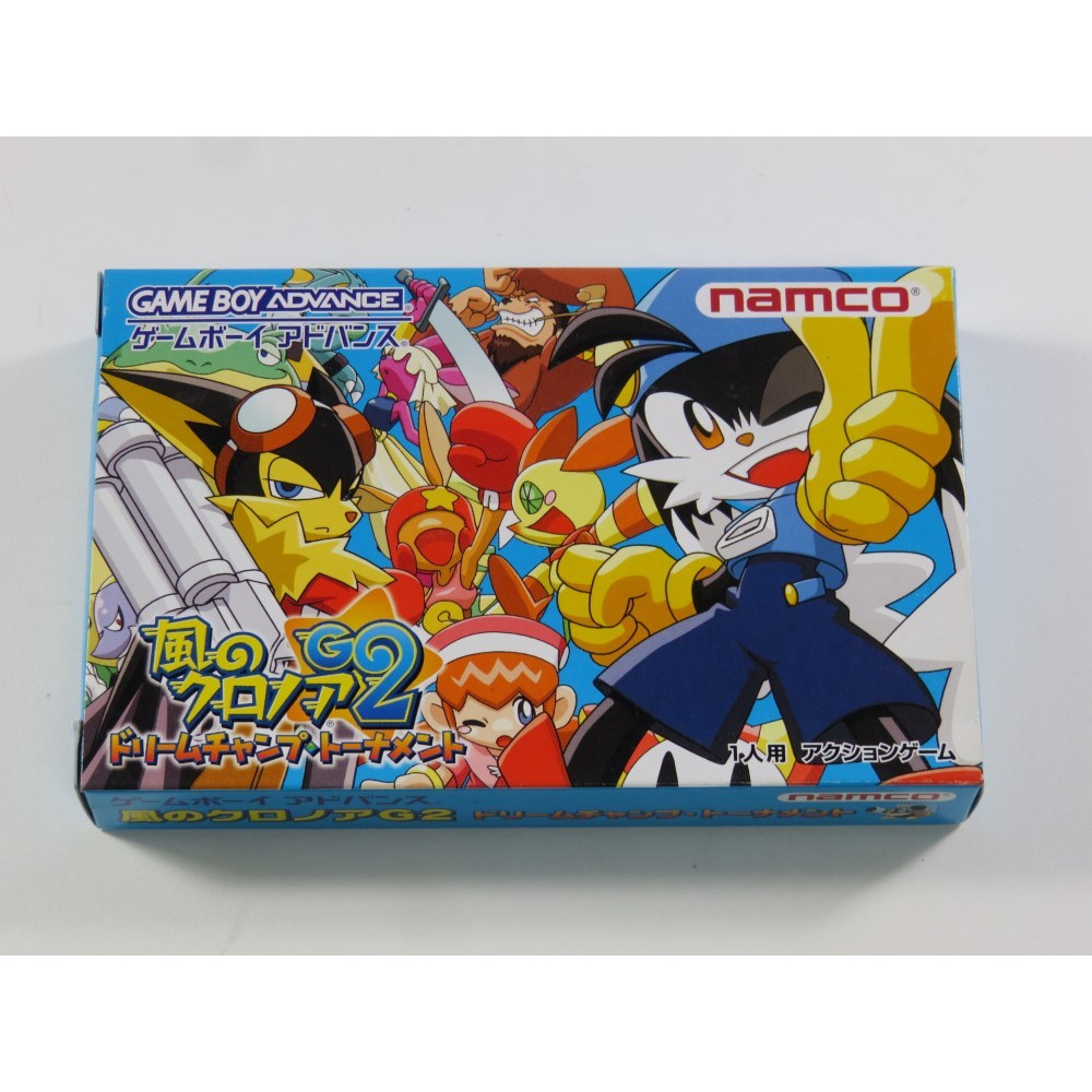 KLONOA 2 DREAM CHAMP TOURNAMENT GBA JPN NEW