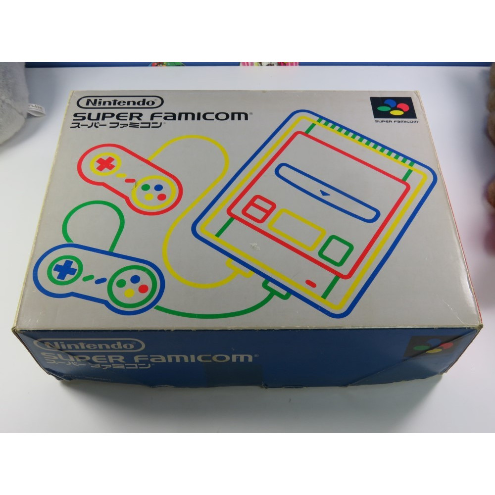 CONSOLE SUPER FAMICOM NTSC-JPN OCCASION (NOTICE NON MATCHING) (CABLES + DEUX CONTROLLERS)