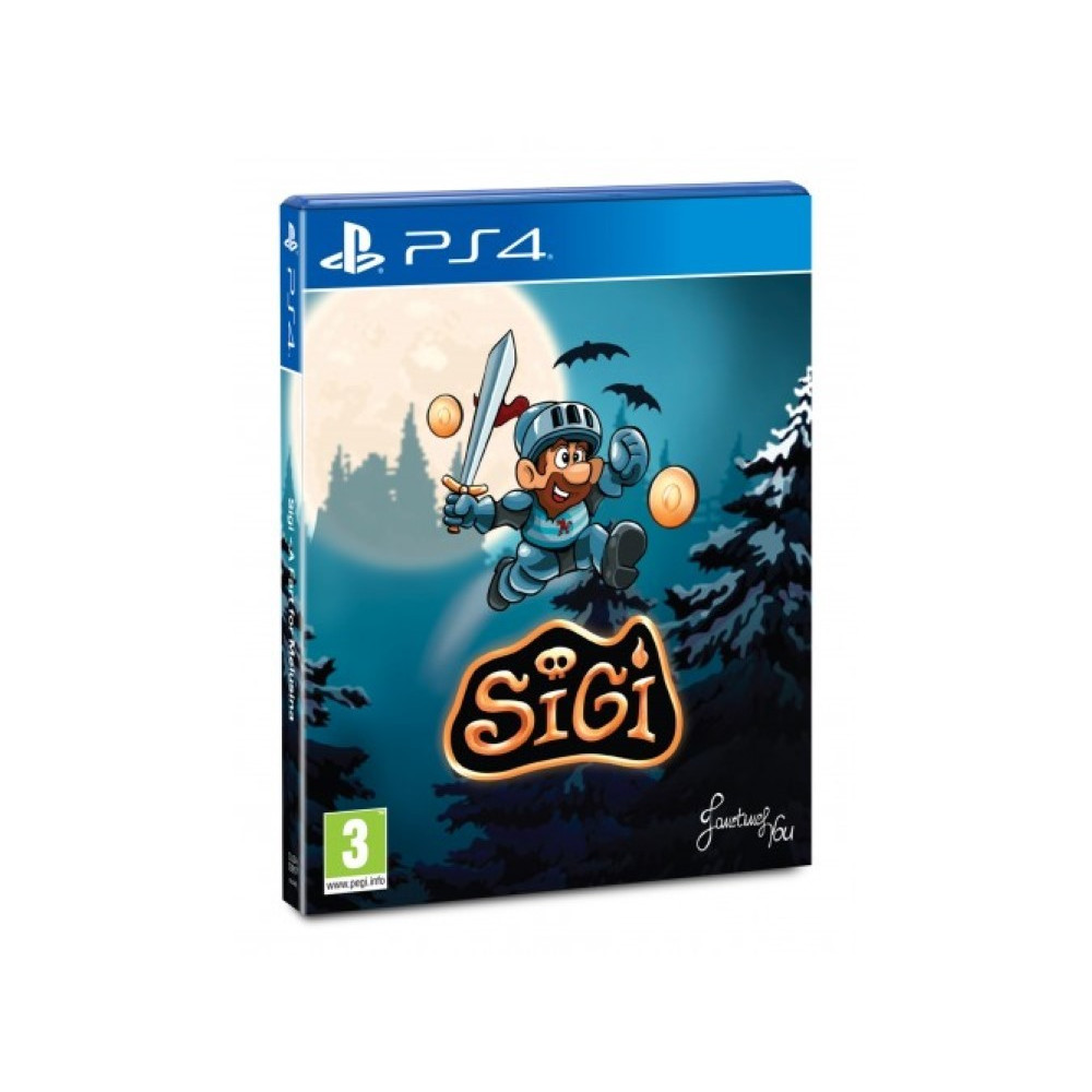 SIGI A FART FOR MELUSINA PS4 FR NEW