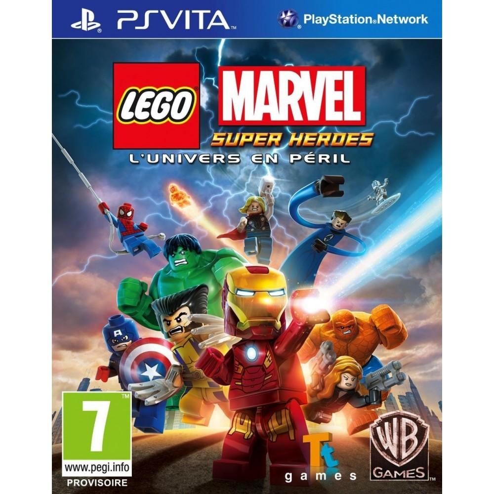 LEGO MARVEL SUPER HEROES PSVITA VF