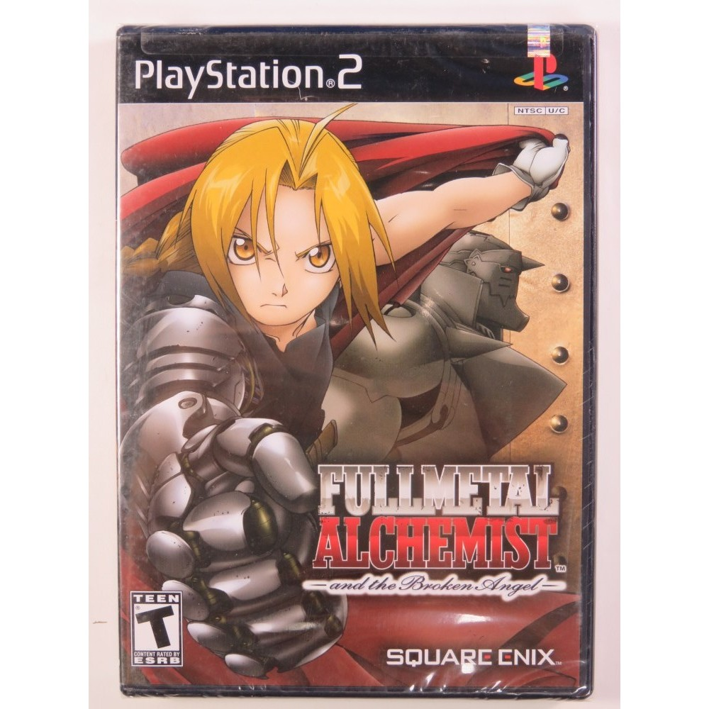 FULL METAL ALCHEMIST AND THE BROCKEN ANGEL PS2 NTSC-USA NEW