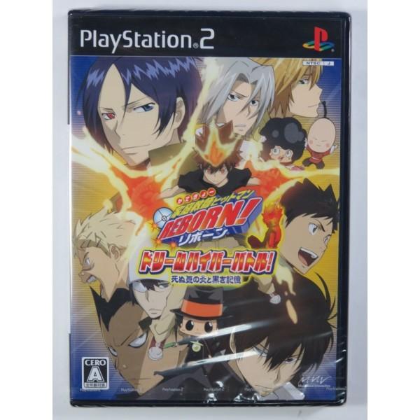 KATEIKYOUSHI HITMAN REBORN! DREAM HYPER BATTLE PS2 NTSC-JPN NEW