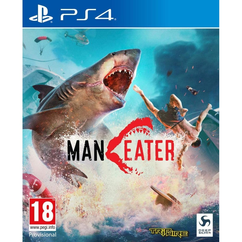 MANEATER DAY ONE EDITION PS4 EURO/UK OCCASION