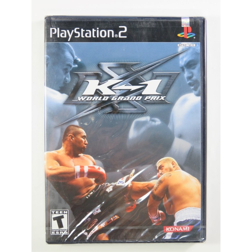K-1 WORLD GRAND PRIX PS2 NTSC-USA NEW
