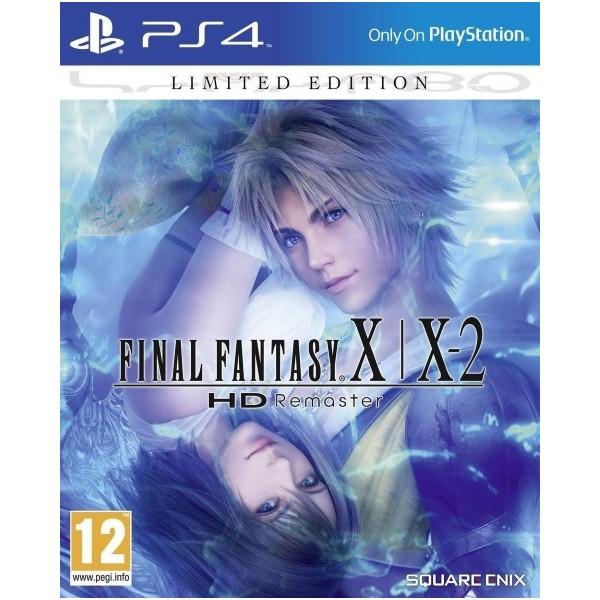 FINAL FANTASY X + X-2 HD EDITION LIMITEE PS4 EURO FR OCCASION
