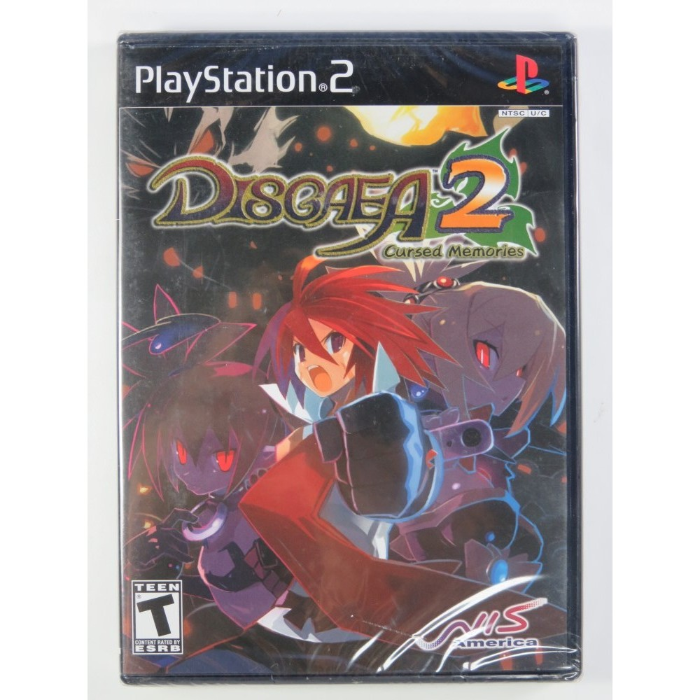 DISGAEA 2 - CURSED MEMORIES PS2 NTSC-USA NEW