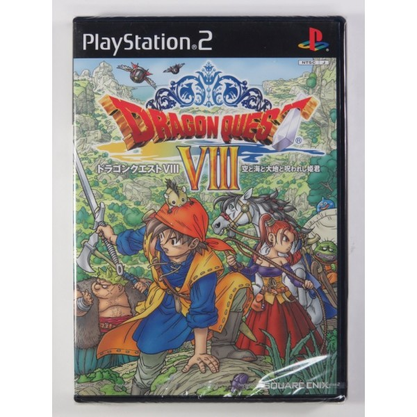 DRAGON QUEST VIII PS2 NTSC-ASIA NEW