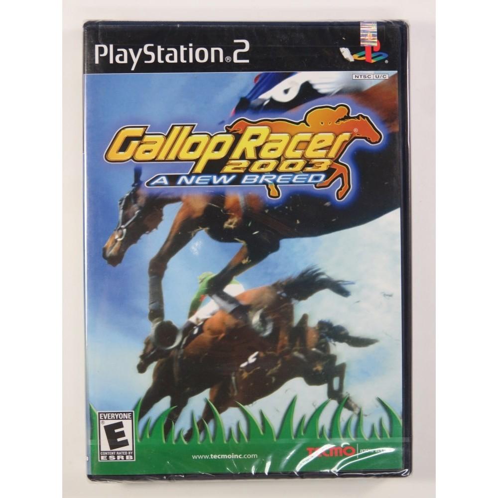GALLOP RACER 2003 PS2 NTSC-USA NEW