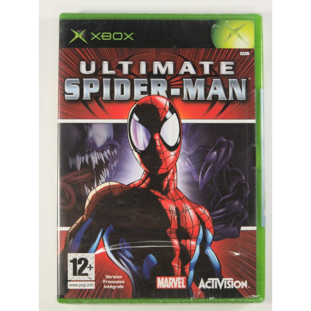 ULTIMATE SPIDERMAN XBOX PAL-FR NEW