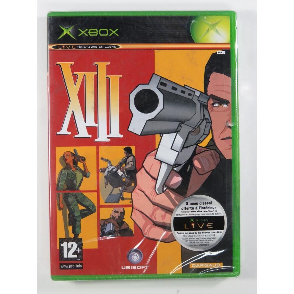 XIII XBOX PAL-FR NEW