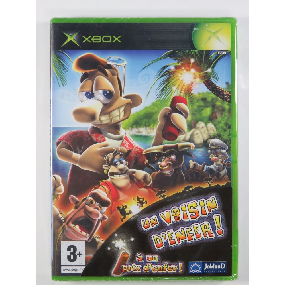 UN VOISIN D ENFER (NEIGHBOURS FROM HELL) XBOX PAL-FR NEW