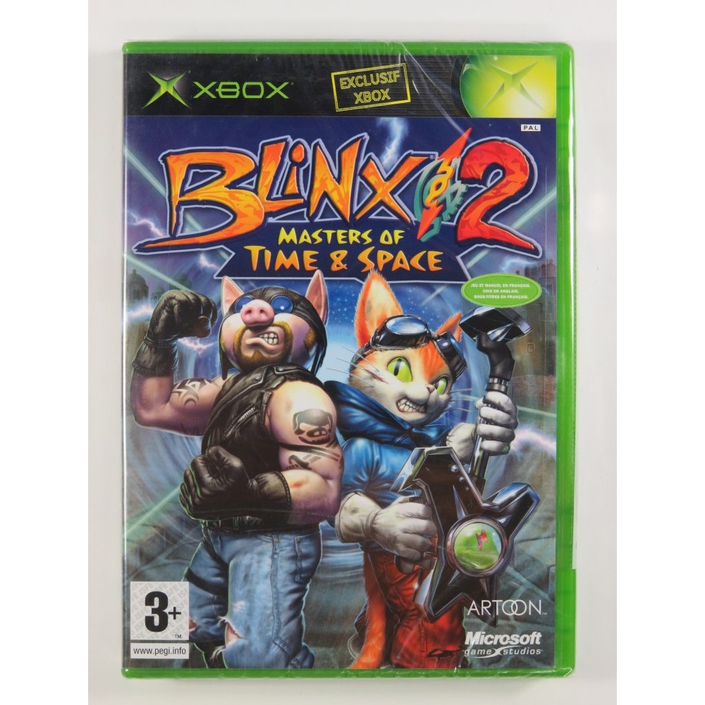 BLINX 2 - MASTER OF TIME & SPACE XBOX PAL-FR NEW