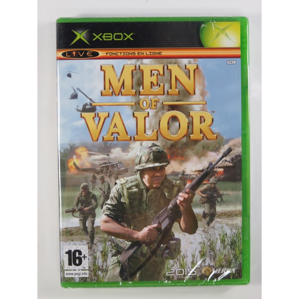 MEN OF VALOR XBOX PAL-FR NEW