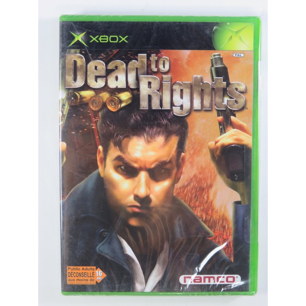 DEAD TO RIGHT XBOX PAL-FR NEW