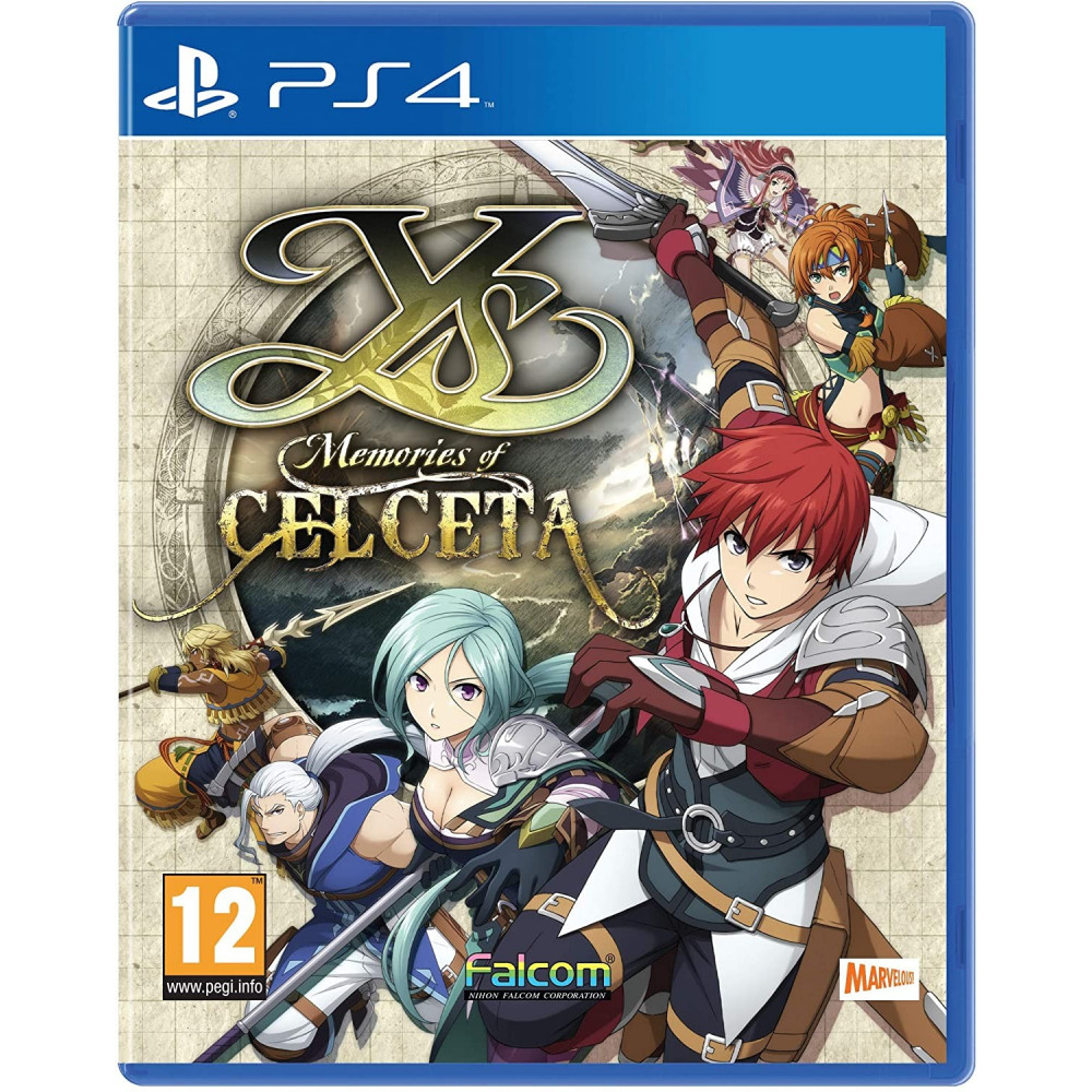 YS MEMORIES OF CELCETA PS4 FR NEW