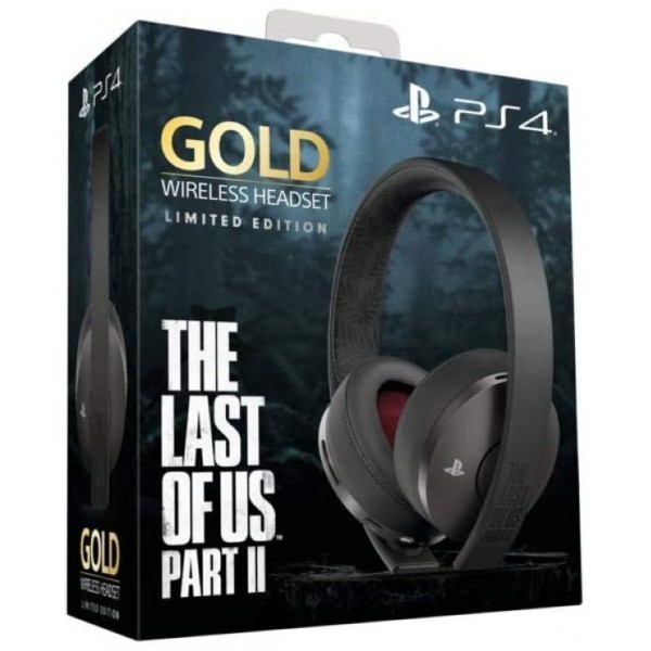 CASQUE WIRELESS GOLD THE LAST OF US 2 PS4 EURO NEW