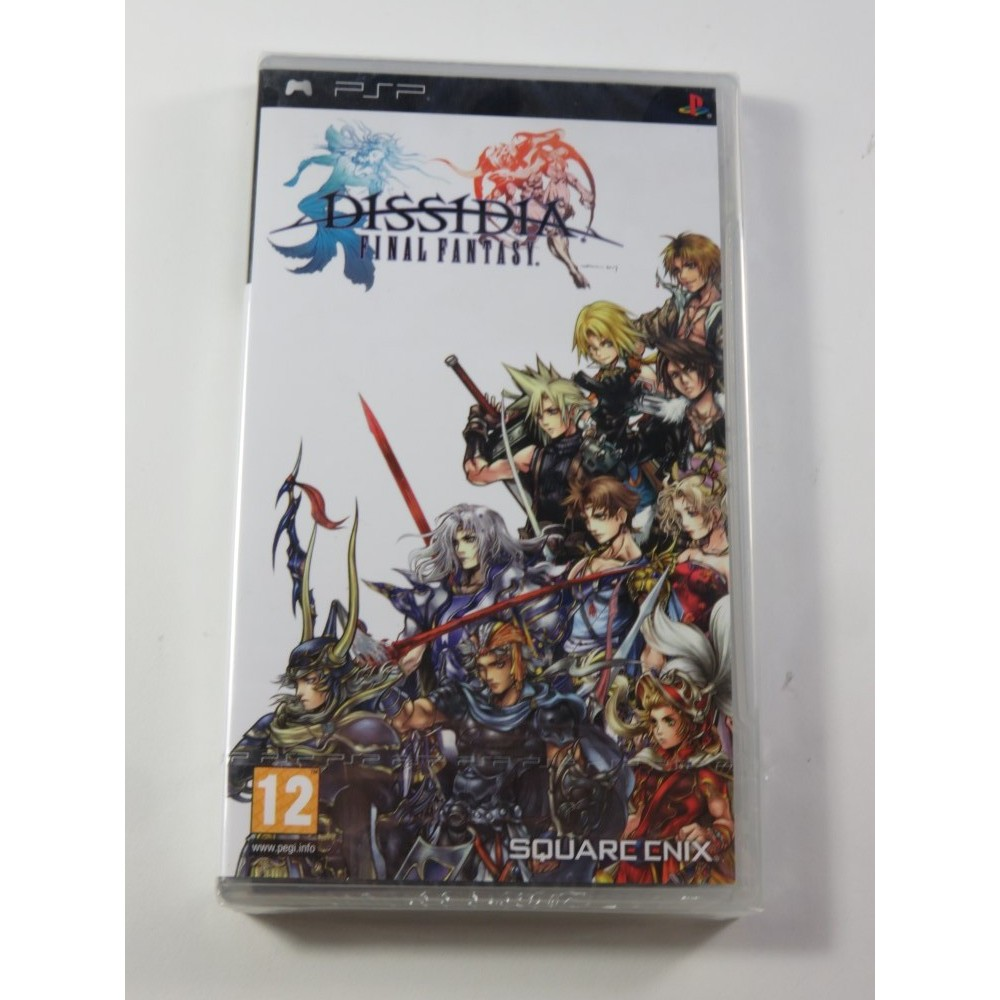 FINAL FANTASY DISSIDIA PSP FR NEW