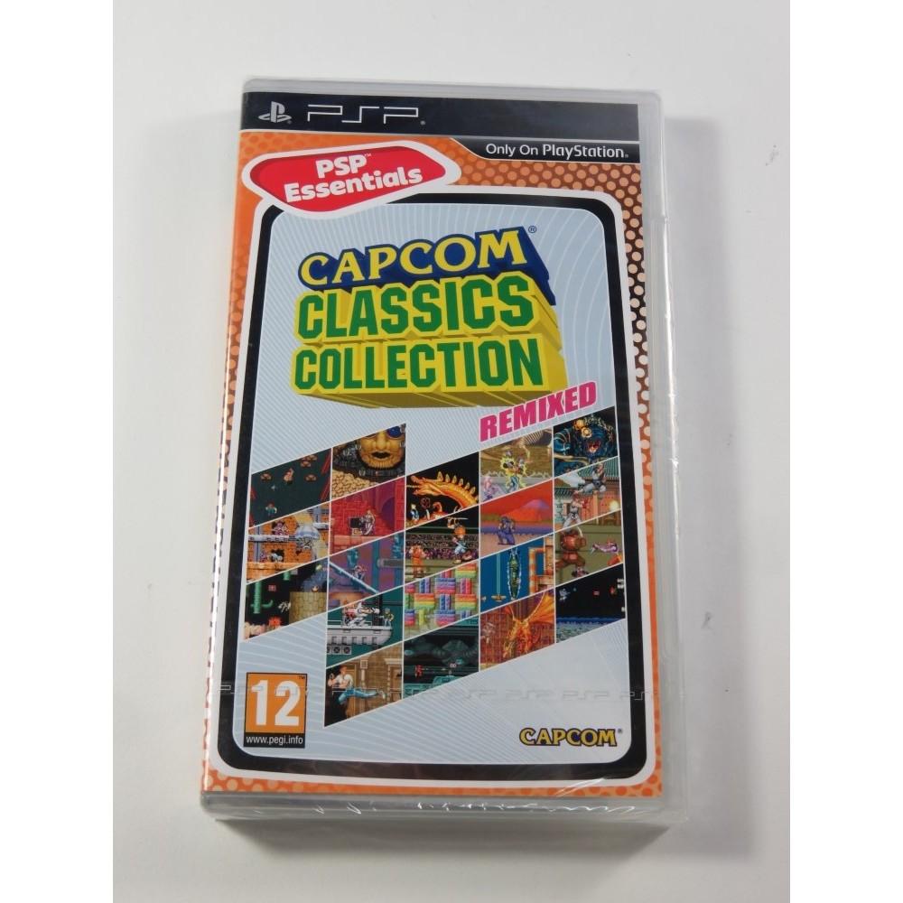 CAPCOM CLASSICS COLLECTION REMIXED ESSANTIALS PSP UK NEW