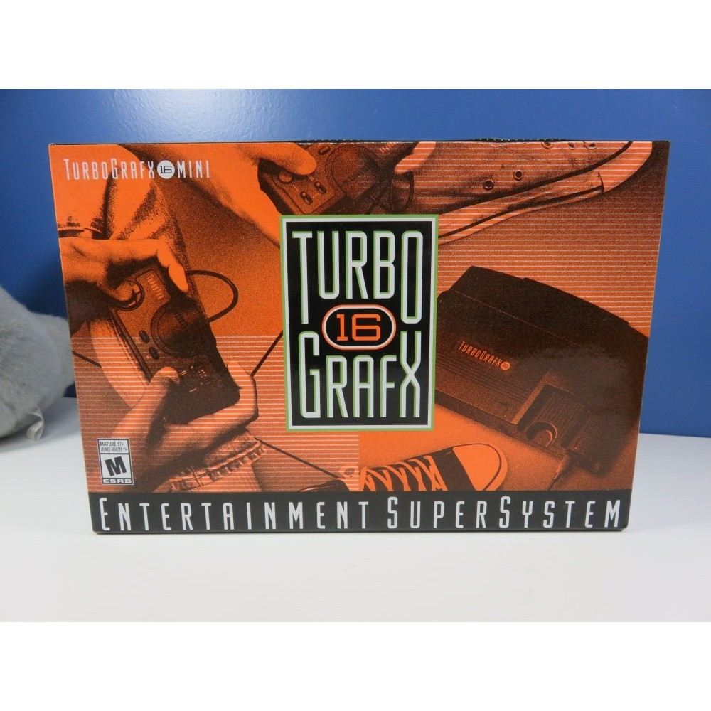 CONSOLE TURBO GRAFX 16 MINI USA NEW (NEC PC ENGINE) -IMPORT JAPONAIS-