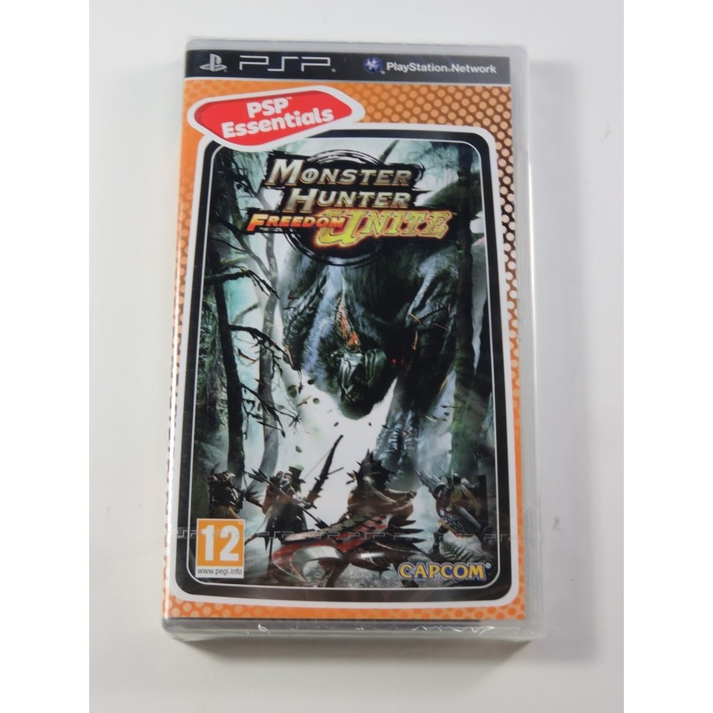 MONSTER HUNTER FREEDOM UNITE PSP ESSENTIALS FR NEW