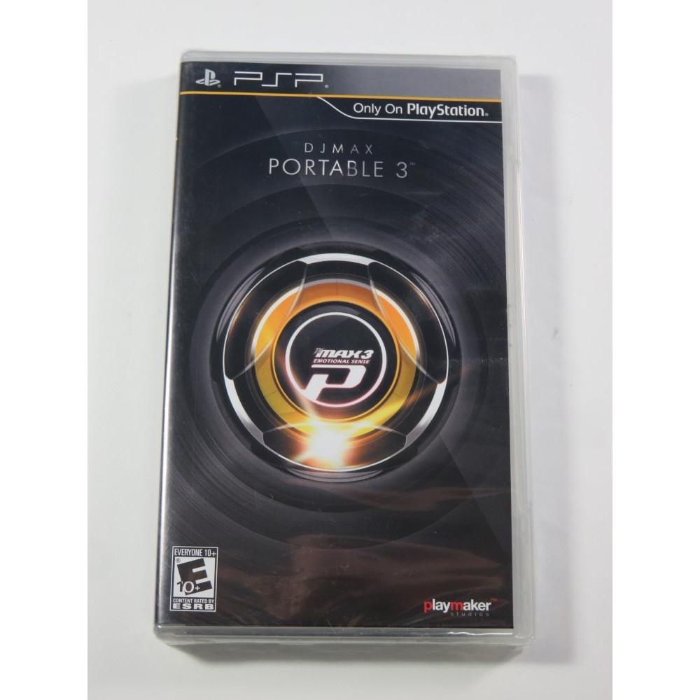 DJMAX PORTABLE 3 PSP USA NEW